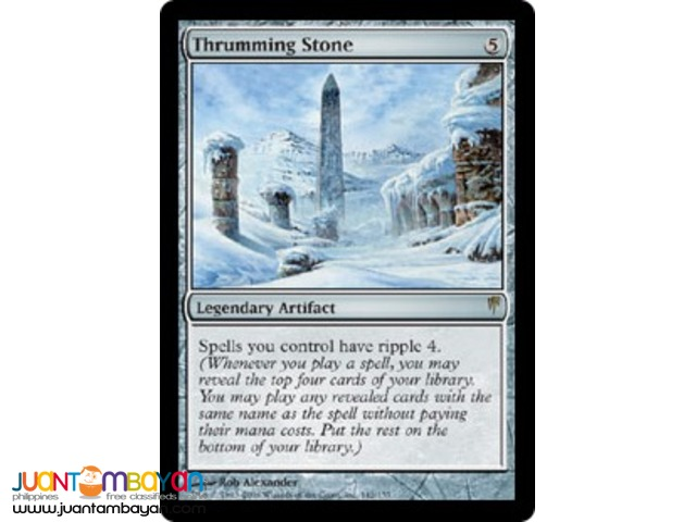 Thrumming Stone (Magic the Gathering Trading Card Game)