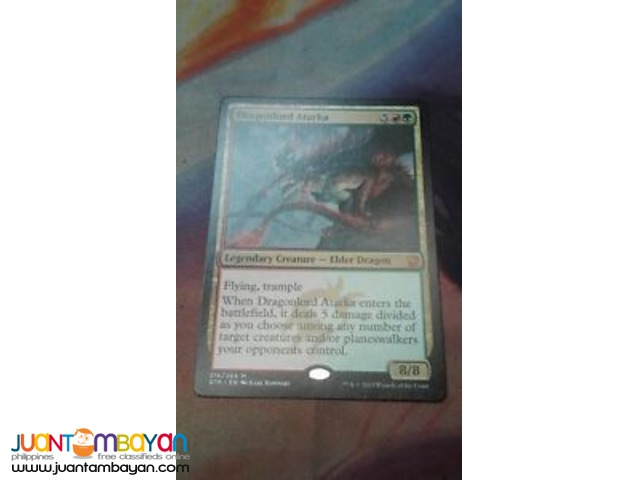 Dragonlord Atarka (Magic the Gathering Trading Card Game)