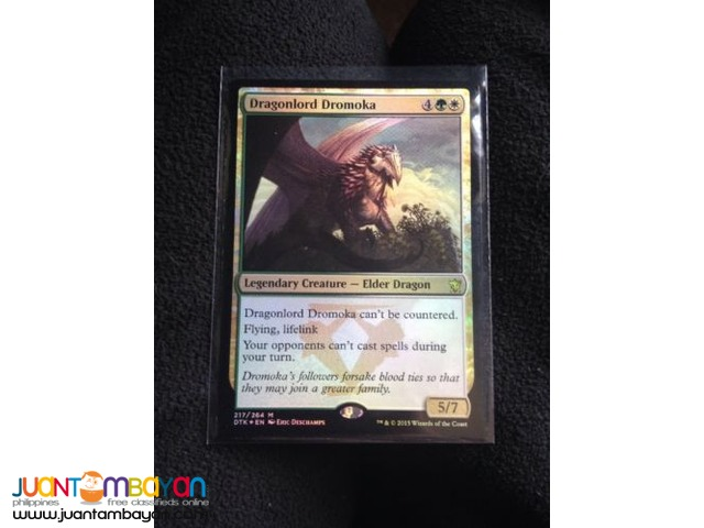 Dragonlord Dromoka (Magic the Gathering Trading Card Game)