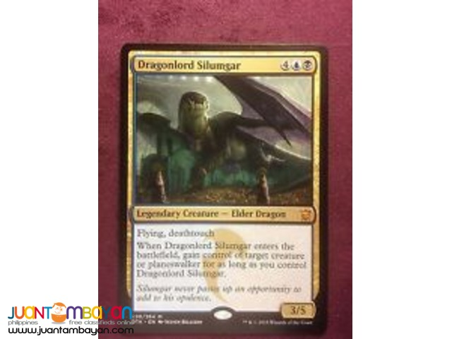 Dragonlord Silumgar (Magic the Gathering Trading Card Game)
