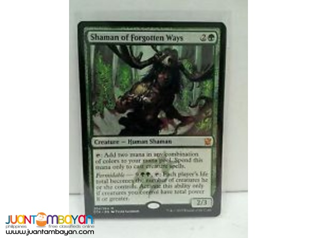 Shaman of Forgotten Ways (Magic the Gathering Trading Card Game)