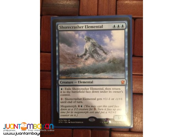 Shorecrasher Elemental (Magic the Gathering Trading Card Game)
