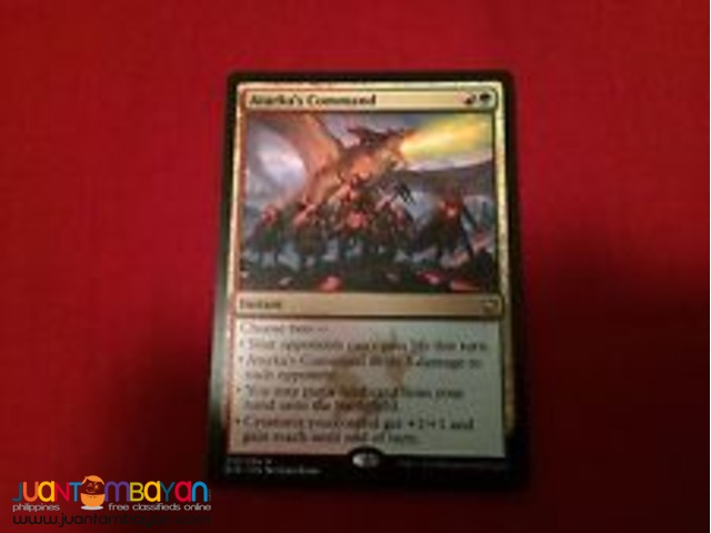 Atarka's Command (Magic the Gathering Trading Card Game)