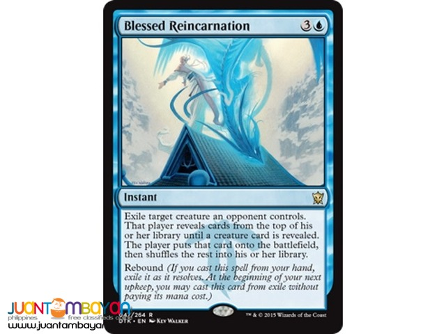 Blessed Reincarnation (Magic the Gathering Trading Card Game)