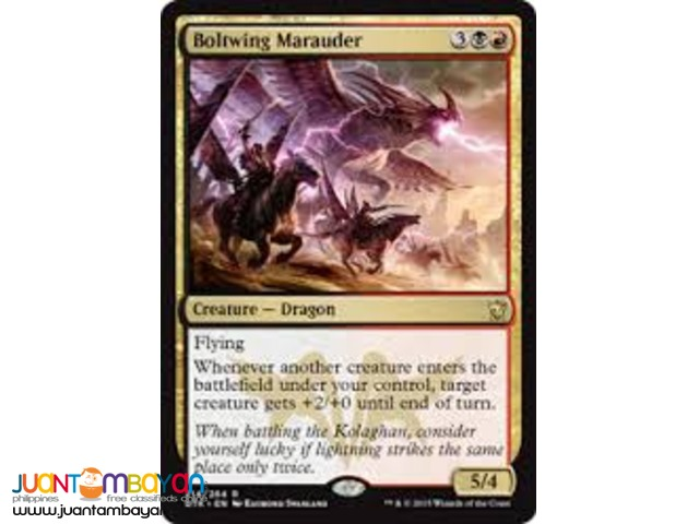 Boltwing Marauder (Magic the Gathering Trading Card Game)