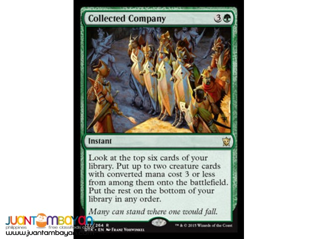 Collected Company (Magic the Gathering Trading Card Game)