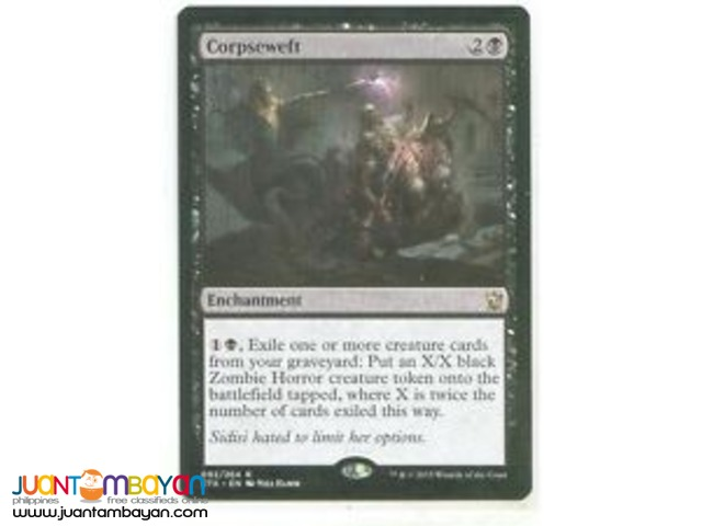 Corpseweft (Magic the Gathering Trading Card Game)