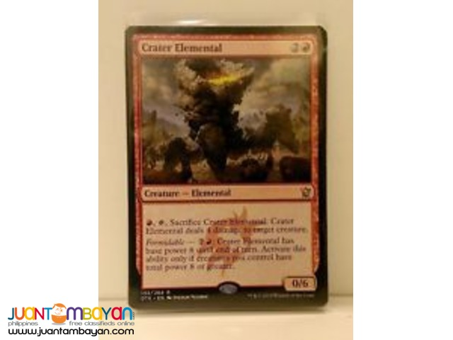 Crater Elemental (Magic the Gathering Trading Card Game)