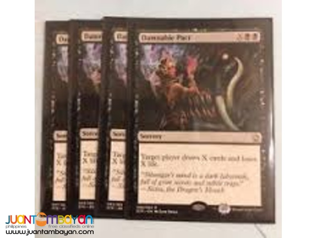 Damnable Pact (Magic the Gathering Trading Card Game)