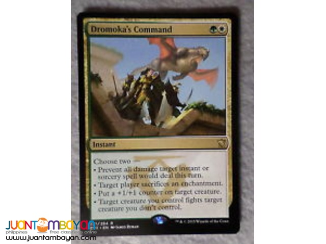 Dromoka's Command (Magic the Gathering Trading Card Game)