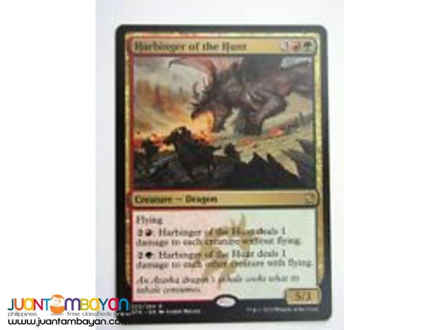 Harbinger of the Hunt (Magic the Gathering Trading Card Game)