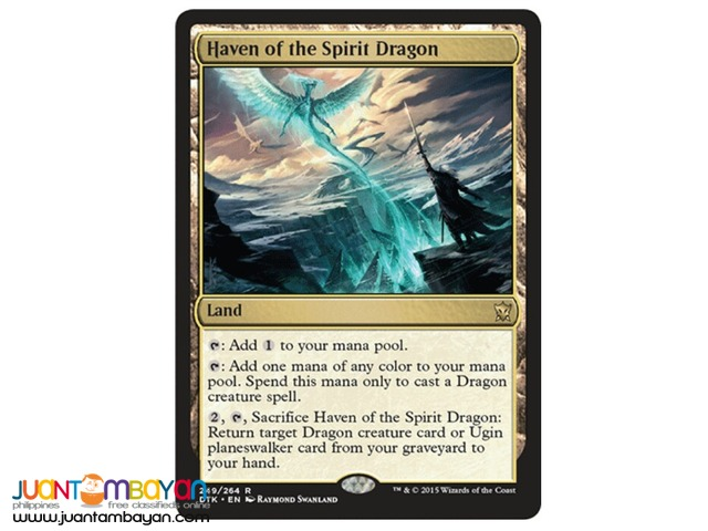 Haven of the Spirit Dragon (Magic the Gathering Trading Card Game)