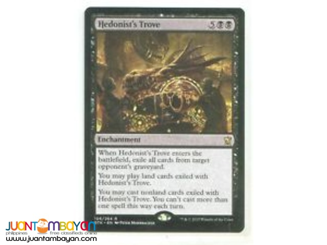 Hedonist's Trove (Magic the Gathering Trading Card Game)
