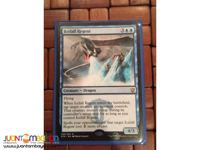 Icefall Regent (Magic the Gathering Trading Card Game)