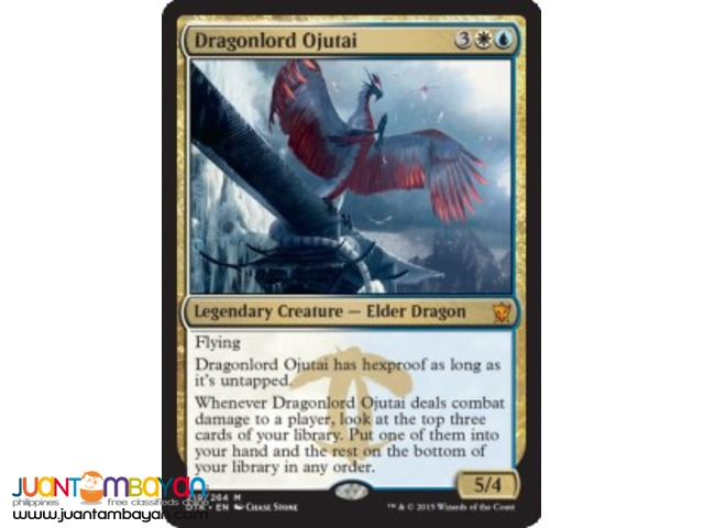 Dragonlord Ojutai (Magic the Gathering Trading Card Game)