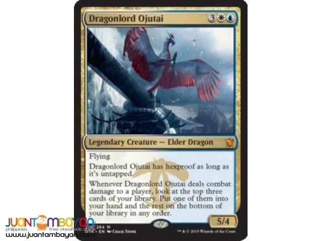 Dragonlord Ojutai (Magic the Gathering Trading Card Game)