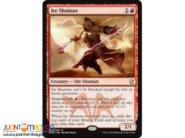 Ire Shaman (Magic the Gathering Trading Card Game)