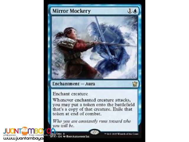 Mirror Mockery (Magic the Gathering Trading Card Game)
