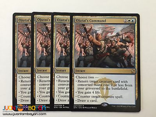 Ojutai's Command (Magic the Gathering Trading Card Game)