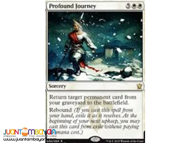 Profound Journey (Magic the Gathering Trading Card Game)