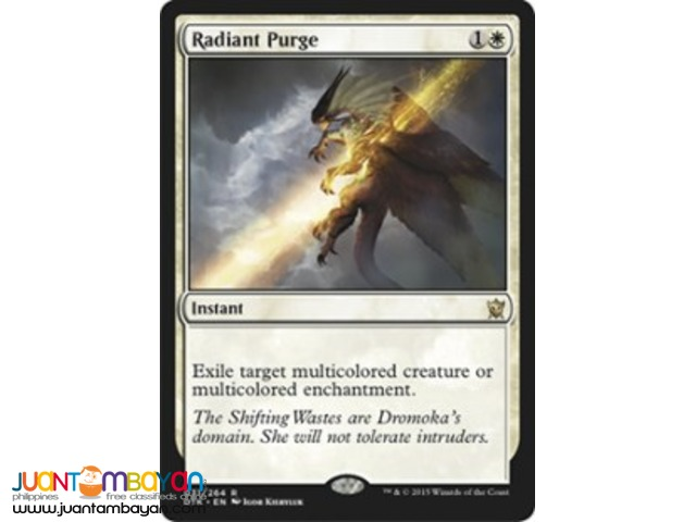 Radiant Purge (Magic the Gathering Trading Card Game)