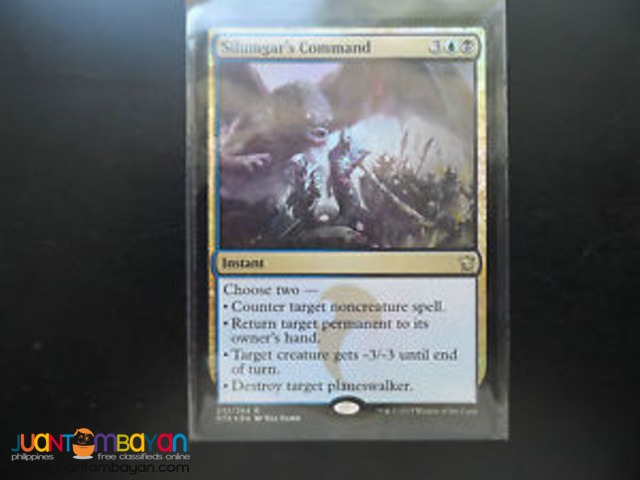 Silumgar's Command (Magic the Gathering Trading Card Game)