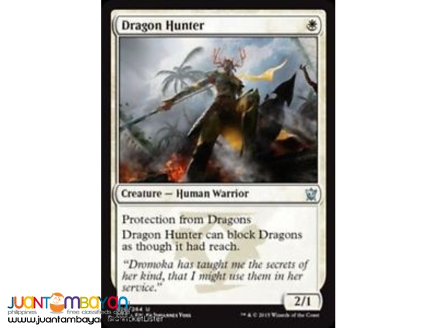 Dragon Hunter (Magic the Gathering Trading Card Game)