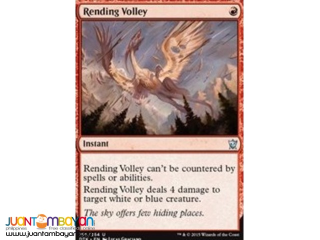 Rending Volley (Magic the Gathering Trading Card Game)