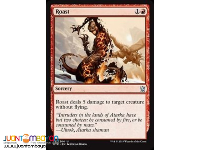 Roast (Magic the Gathering Trading Card Game)
