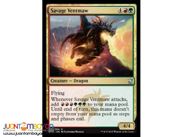 Savage Ventmaw (Magic the Gathering Trading Card Game)