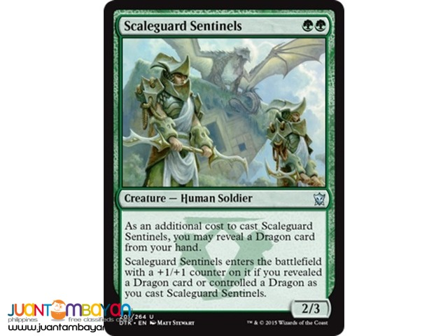 Scaleguard Sentinels (Magic the Gathering Trading Card Game)