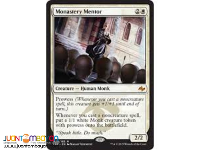 Monastery Mentor (Magic the Gathering Trading Card Game)
