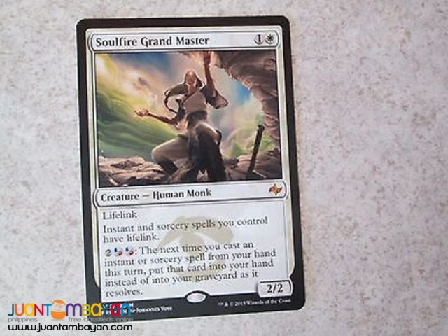 Soulfire Grand Master (Magic the Gathering Trading Card Game)