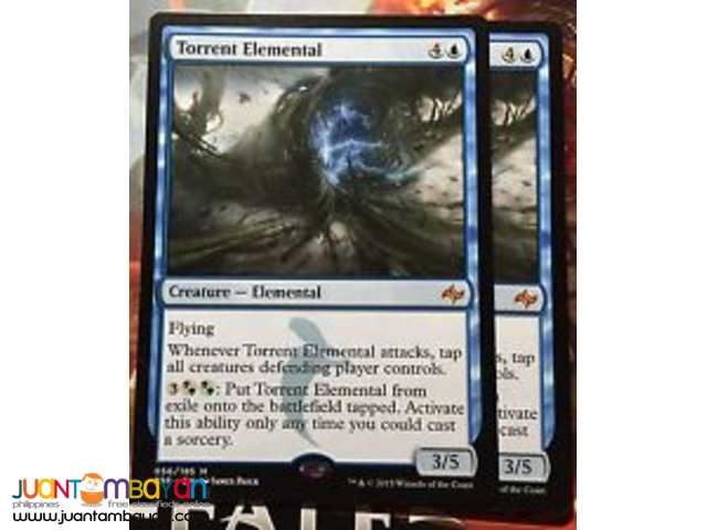Torrent Elemental (Magic the Gathering Trading Card Game)