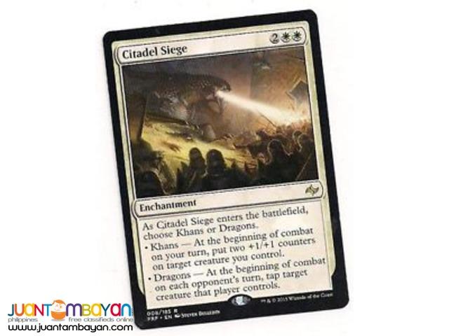 Citadel Siege (Magic the Gathering Trading Card Game)