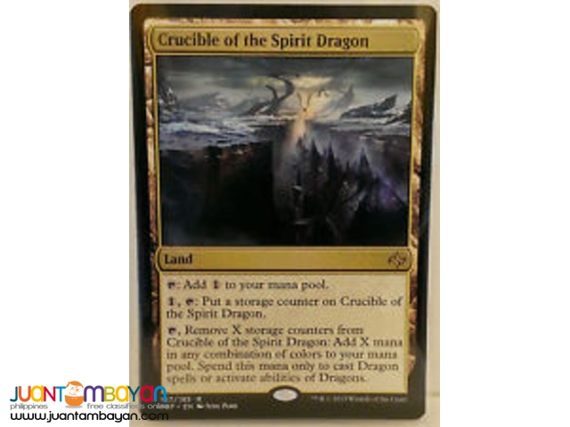Crucible of the Spirit Dragon (Magic the Gathering Trading Card Game)