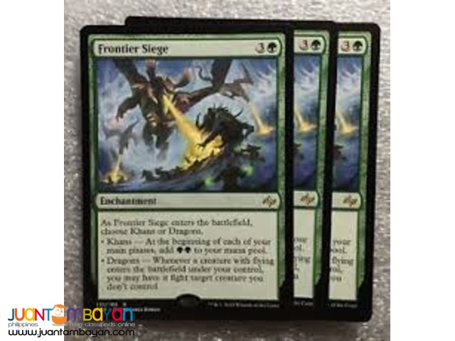 Frontier Siege (Magic the Gathering Trading Card Game)