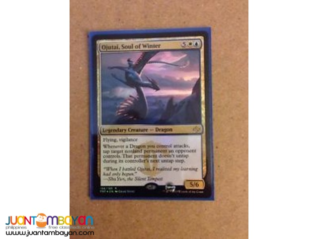 Ojutai, Soul of Winter (Magic the Gathering Trading Card Game)