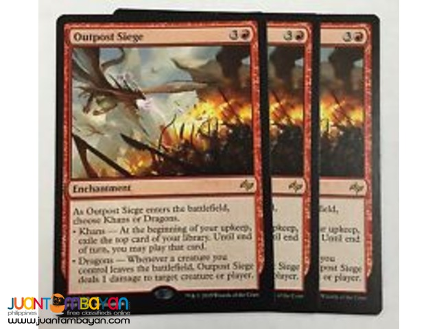 Outpost Siege (Magic the Gathering Trading Card Game)