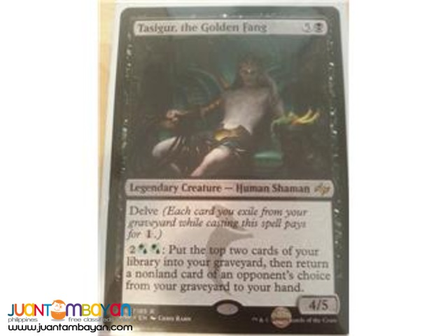 Tasigur, the Golden Fang (Magic the Gathering Trading Card Game)