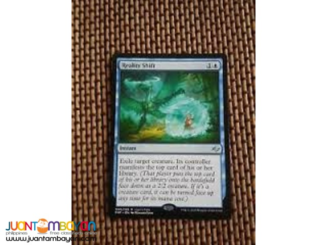 Reality Shift (Magic the Gathering Trading Card Game)