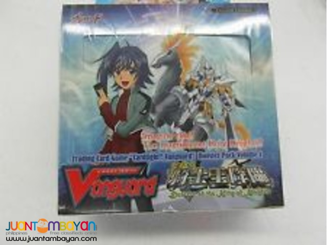 Vanguard BT01 Descent of the King of Knights