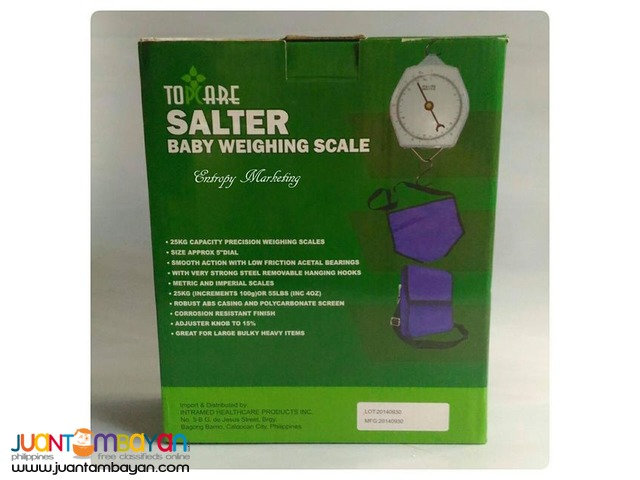Topcare Salter Baby weighing scale 25 kgs