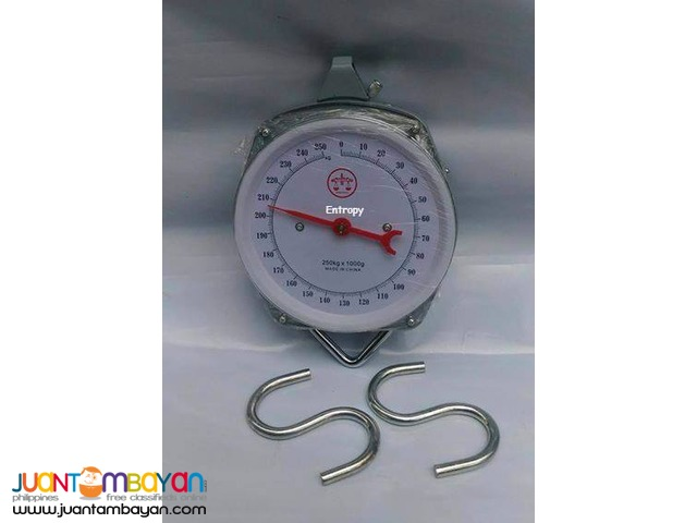 HANGING WEIGHING SCALE ARMSTRONG ASH 250 KGS