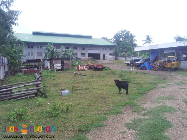 10,262 sq.m lot with warehouse in Talisay City, Cebu