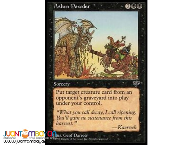 Ashen Powder (Magic the Gathering Trading Card Game)