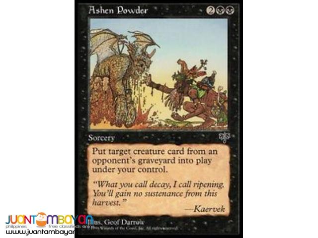 Ashen Powder (Magic the Gathering Trading Card Game)