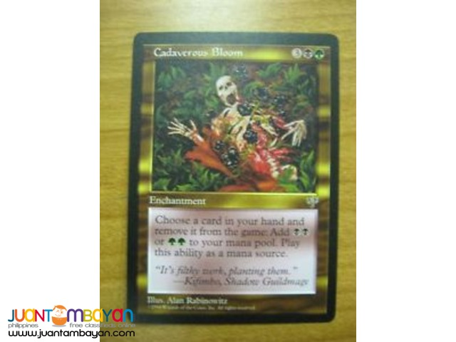 Cadaverous Bloom (Magic the Gathering Trading Card Game)