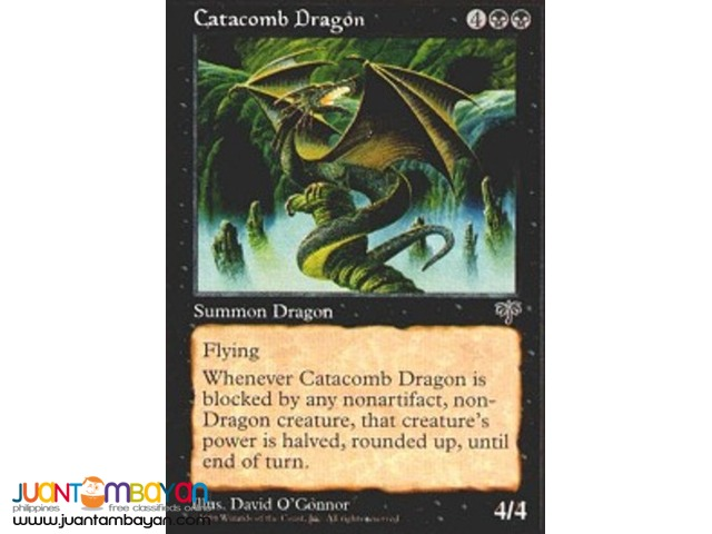 Catacomb Dragon (Magic the Gathering Trading Card Game)
