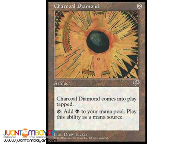 Charcoal Diamond (Magic the Gathering Trading Card Game)